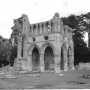 North transept of Dryburgh Abbey in the Scottish Borders, Sir Walter Scott's burial place