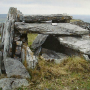 Dermot and Grainne's Grave, a megalithic tomb on Inishmore