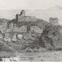 an old print of Turnberry Castle, Ayrshire