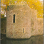 corner tower of the Bishops Palace, Wells