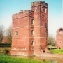 corner tower at Kirby Muxloe Castle, Leicestershire