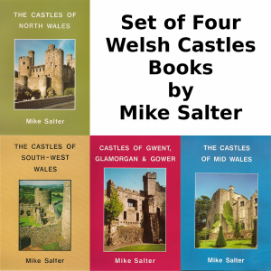 front cover Welsh Castles