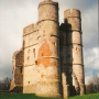 the gatehouse at Donnington Castle, Berkshire