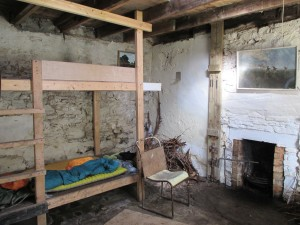Resourie Bothy Interior